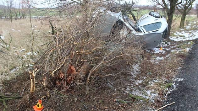Následky nehody u Vincencova