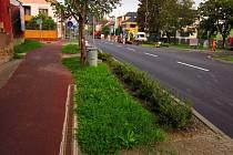 Oprava zastávek v Olomoucké ulici - pondělí 1. 10. 2012
