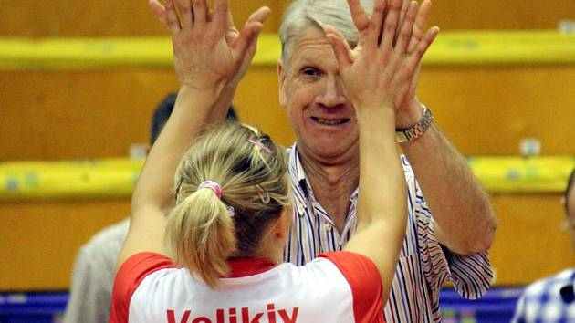 Kouč Prostějova Miroslav Čada