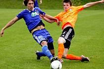 1. SK Prostějov (v modrém) vs. Sigma Olomouc B