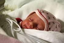 Viktorie Rychlíková, Prostějov, narozena 28. ledna, 44 cm, 2350 g