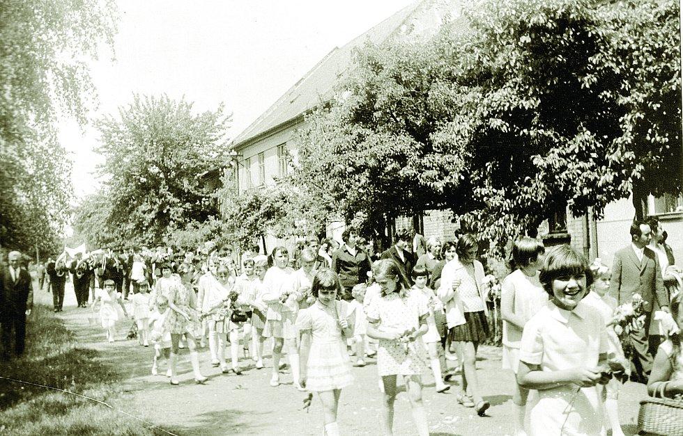 Kostelec na Hané v průběhu let