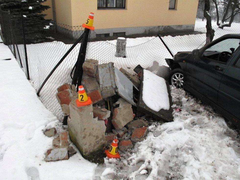 Nehoda v Čelčicích