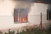 Požár v Pivíně