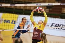 Simona Bajuszová ještě v dresu Dukly Liberec.