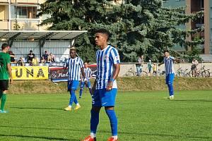 Fotbalisté Prostějova prohráli doma s Příbramí 1:3.