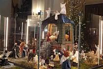 Unikátní kruhový betlém v Kostele Povýšení sv. Kříže v Prostějově