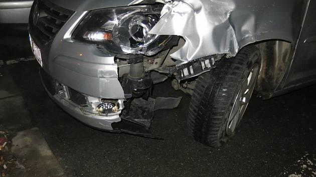 Nehoda v prostějovské ulici J. Lady