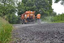 Opravy silnic na Prostějovsku pokračují