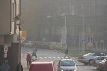 Inverzní počasí v Prostějově