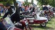 Veterán rallye v Němčicích nad Hanou