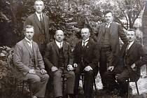 Místní školní rada Doloplazy, r. 1923.