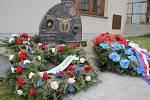 Pomník věnovaný pilotovi z 2. světové války Josefu Františkovi