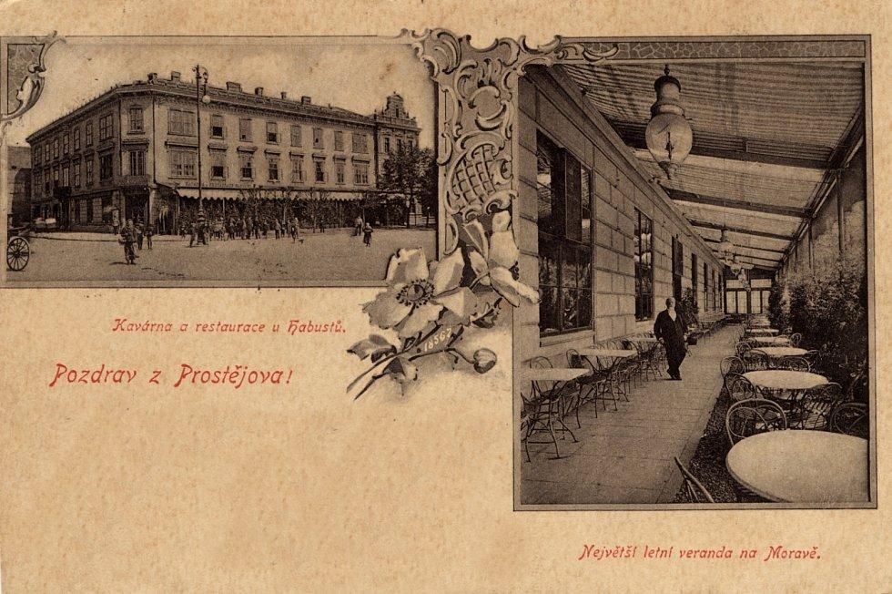 Dům byl postaven v roce 1879, ve 20. letech minulého století byl přestavěn do dnešní podoby.