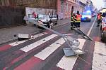 Nehoda na Vápenici v Prostějově