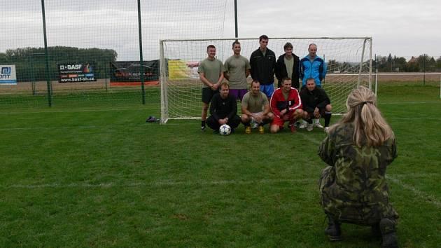 Charitativní fotbalový turnaj v Kostelci na Hané