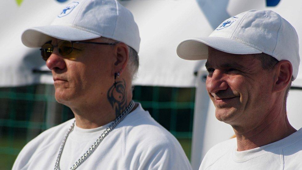 MČR ve střelbě z polní kuše v Plumlově - 12. 9. 2020 - Bob Korbař vpravo