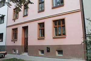 Bytový dům v ulici Hvězda, který musel být evakuován.