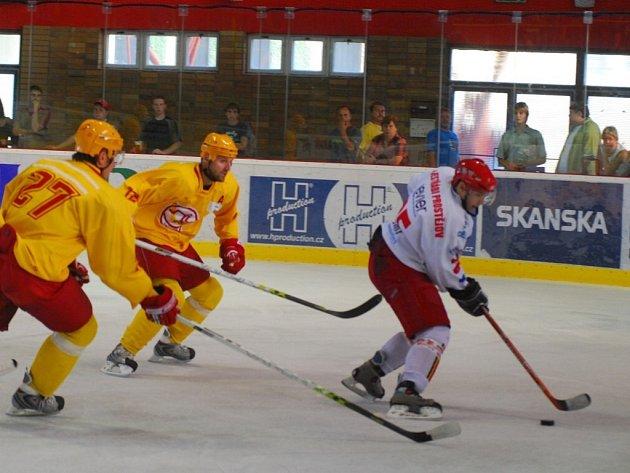 V domácím utkání Jestřábi podlehli Trenčínu vysoko 2:6, zato na Slovensku prohráli se stejným protivníkem jen 2:3.