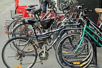 V Prostějově je okolo padesáti míst s bezpečnostními stojany na kola