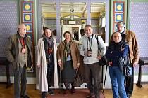 Návštěva z Vídně v Prostějově