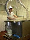 Výroba Nivy v mlékárně v Otinovsi