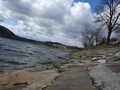 Plumlovská přehrada - polovina března 2014