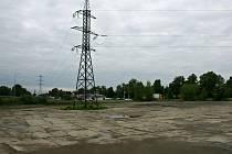 Plocha bývalé skládky mezi Průmyslovou a Kojetínskou ulicí v Prostějově