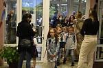 První školní den na ZŠ Jana Železného v Prostějově - 1. září 2020