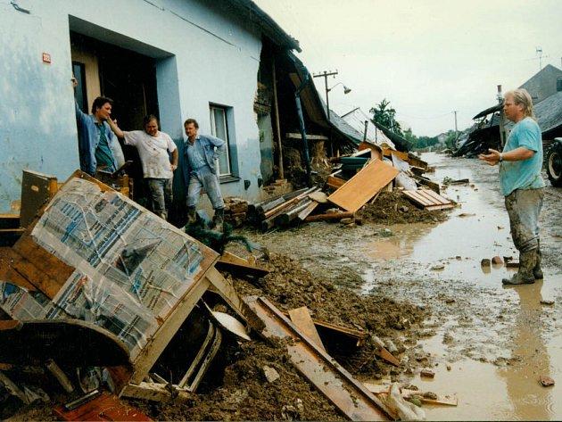 Troubky na Přerovsku se staly symbolem katastrofy.