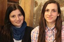Lektorka Disko dance Kateřina Weissová (vlevo)