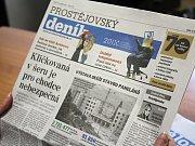 Prostějovský deník. Ilustrační foto