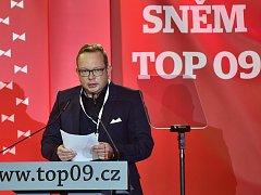Pavel Němec z Plumlova na sněmu TOP 09 v Praze