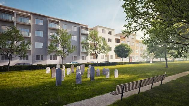 Zástupci židovské obce a města Prostějova se dohodli na budoucí podobě starého židovského hřbitova. Takto by mohl podle vizualizace vypadat