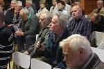Setkání vedení prostějovské radnice s obyvateli Čechovic, Domamyslic i Krasic