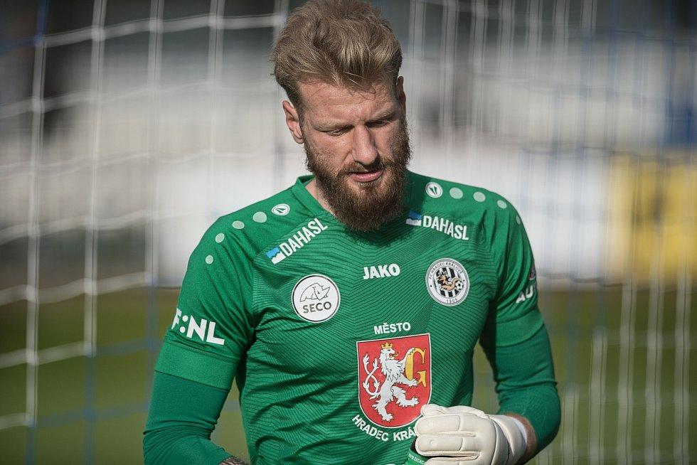 Prostějov prohrál doma s Hradcem Králové 1:2.Michal Reichl