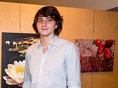 Dvacetiletý fotograf Antonín Melichar má za sebou týden vystavování v Prostějově a také vernisáž
