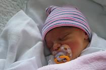 Natálie Hudečková, Čelechovice na Hané, narozena 17. září 2019 v Prostějově, míra 49 cm, váha 2550 g