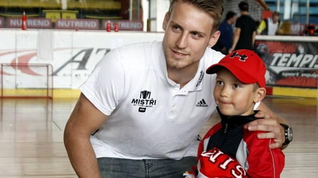 Hokejista Ondřej Vitásek
