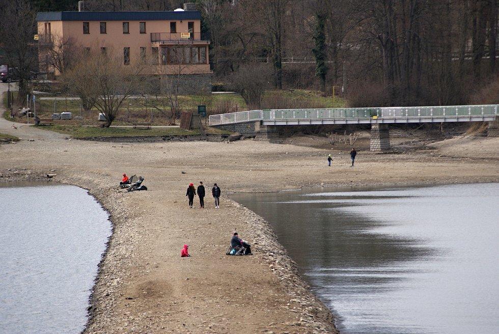 Plumlovská přehrada - sobota 27. 3. 2021
