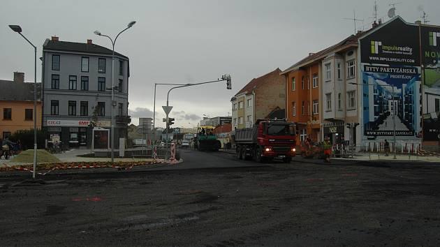 Rekonstrukce ulic Plumlovská a Blahoslavova v Prostějově - 16. 10. 2019