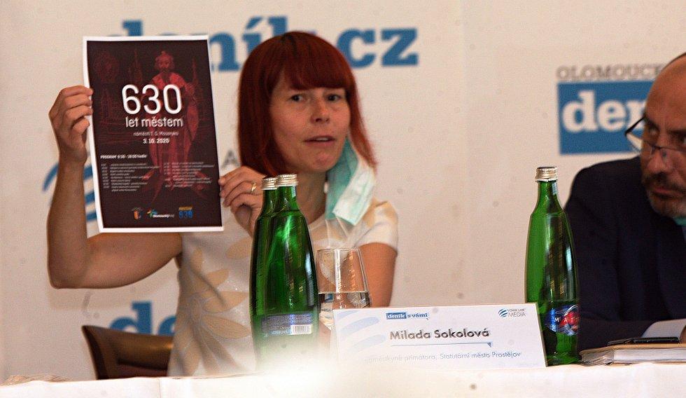 Náměstkyně primátora Milada Sokolová