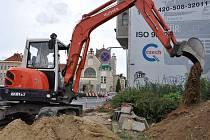 Výměna plynového potrubí na Vápenici v Prostějově bude probíhat až do konce října