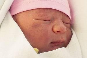 Mia Nosková, Doloplazy, narozena 11. května 2021 v Prostějově, míra 50 cm, váha 3500 g