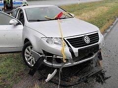 Nehoda passatu na R46