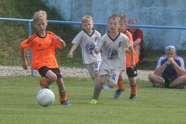 Děti z Olomouce, Prostějova, Rousínova či Šumperka se utkaly na turnaji v Kralicích na Hané.
