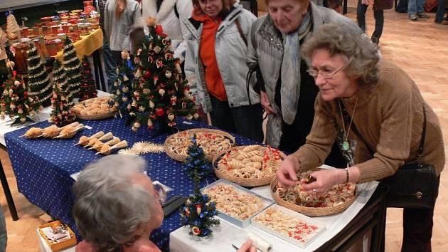 Tradiční akce Vánoce v lidových řemeslech.