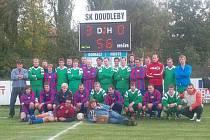 Čechovice alias SK Doudleby a Slavoj Houslice - hromadné foto