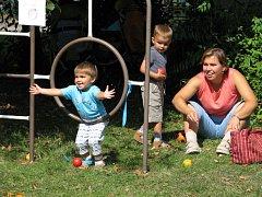 V Mateřském centru Cipísek byla dětská slavnost.