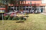 ATRIUM PROKOUKLO. Prostějovská škola Dr. Horáka se dočkala po čtyřiceti letech revitalizace atria.